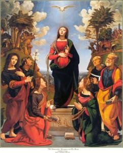 Pierre di Cosimo's Immaculate Conception