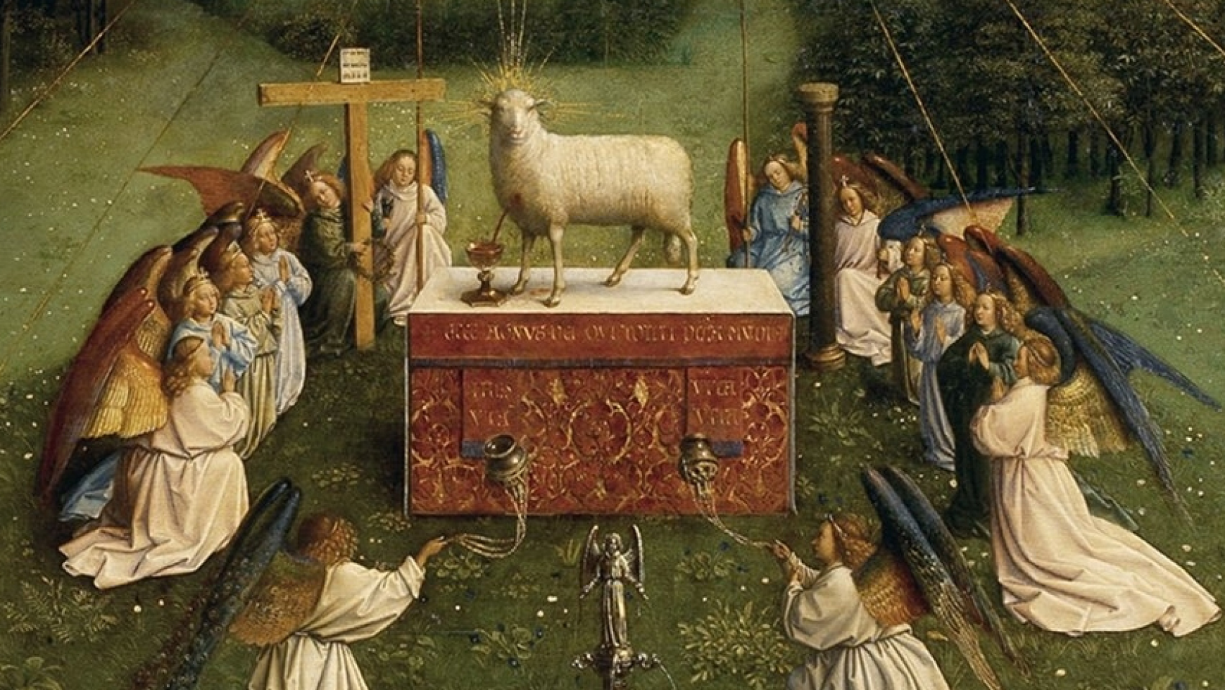 Newman's Reflection and Prayer to the Lamb of God