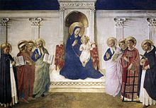 Fra Angelico, Maddona Enthroned