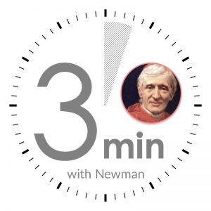 Thee Minutes with Newman